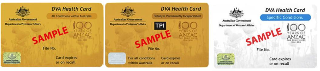 DVA Cardholders Discount Glasses
